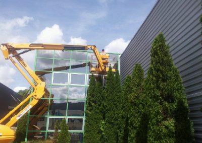 Nettoyage de vitres en hauteur 2