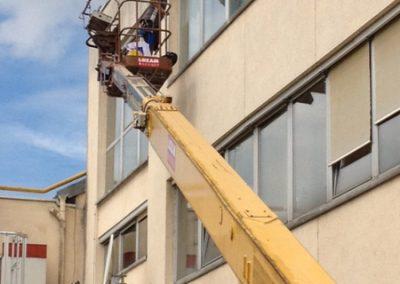 Nettoyage de vitres en hauteur 4
