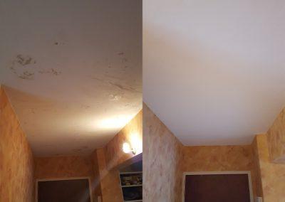 Rénovation des plafonds d'un appartement